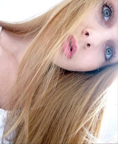 Greek Girl With Blue Eyes And Blonde Hair Beautiful Greek Flickr