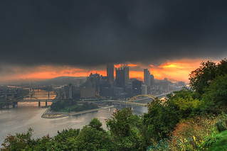 An Early Morning view of Downtown Pittsburgh(Explored) | by Z!@