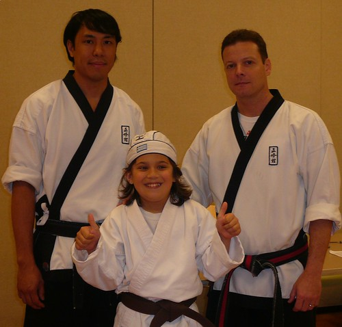 brown belt test master costello and mister bui jung su