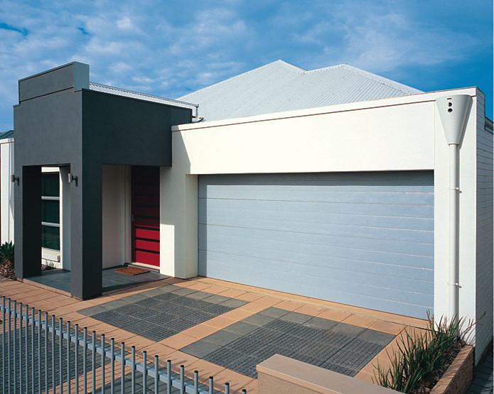 ... Gliderol Panel Glide Tuscan Sectional Garage Door | By Roller Doors Ltd