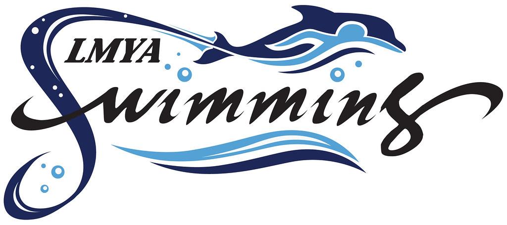 Lmya swim team logo lmya team news flickr for Dolphins t shirt new logo
