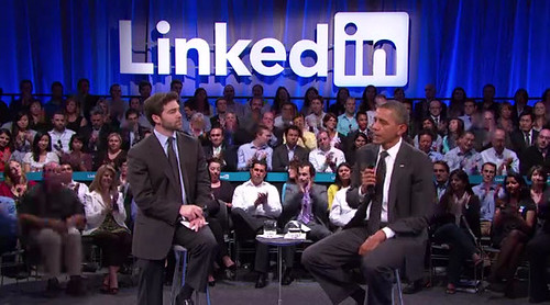 President Obama at LinkedIn for America Jobs Act Town Hall | by thekenyeung