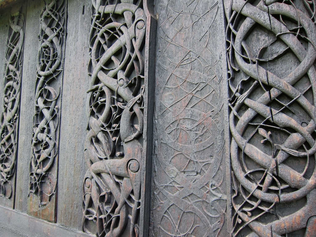 Urnes stave church 03 | The Urnes style of Scandinavian ...