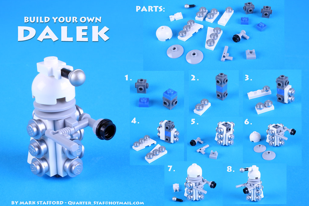 Build A Dalek There Are Tons Of Great Dalek Designs Out Th Flickr