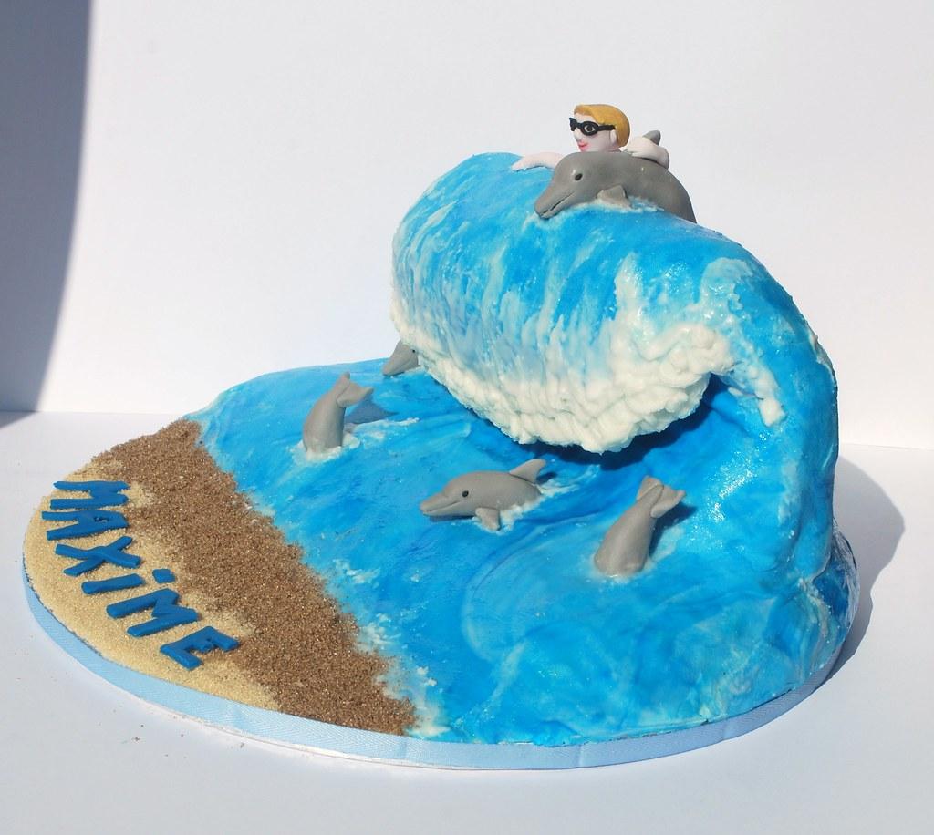 Birthday Cake Photos Of Dolphins