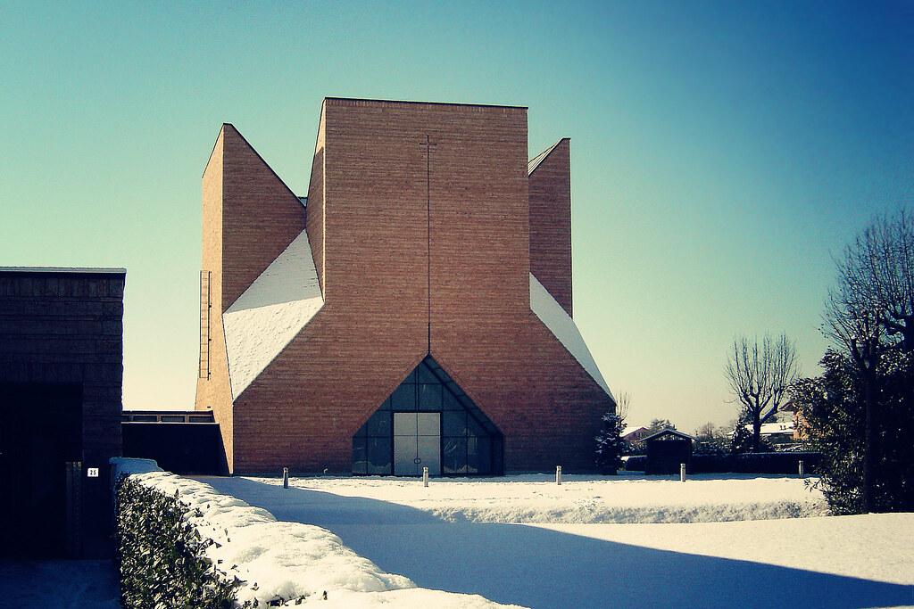 pope john xxiii church by mario botta