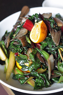 Chinese vegetables with Meyer lemon | by David Lebovitz
