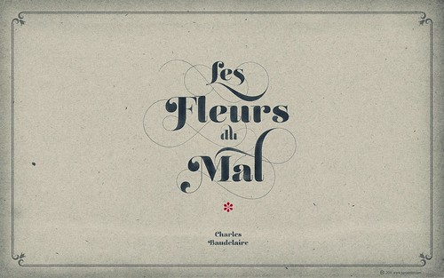 LIÁN TYPES »Reina« ❁ Les Fleurs du Mal Aged (for widescreen displays) | by arnoKath