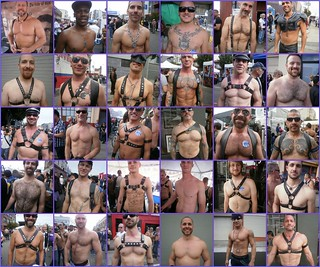 HOT BARE CHESTED STUDS AT FOLSOM STREET 2011 ! | by addadada