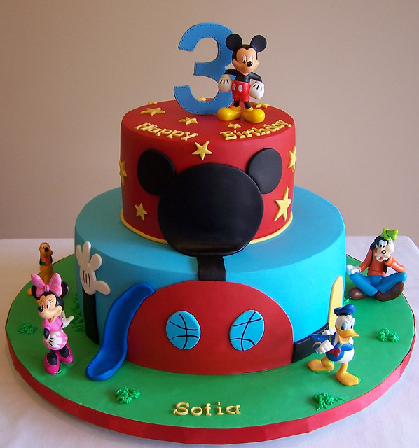 Mickey Mouse Clubhouse Cake Images : Mickey Mouse Clubhouse cake Flickr - Photo Sharing!