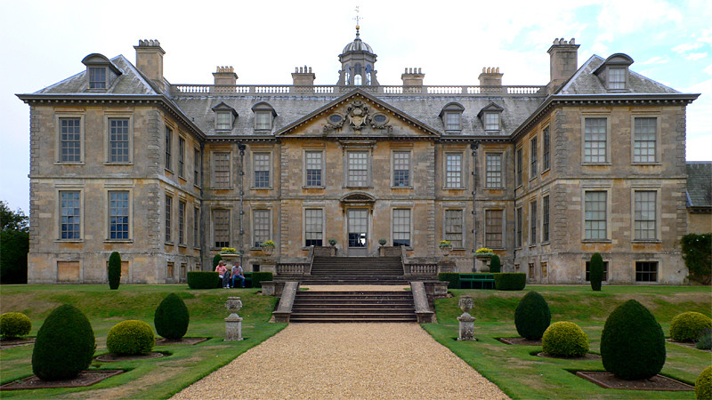 Belton House Rear Elevation Belton House Aka Rosings