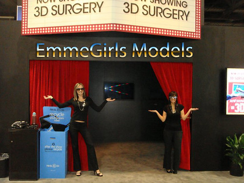 EmmeGirls Staffs Trade Show Models for Sony at American College of Surgeons ACS | by EmmeGirls