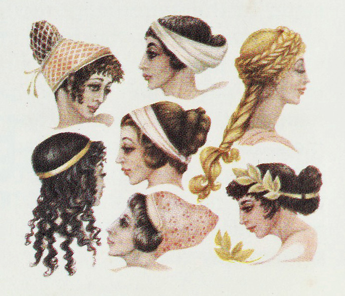Hairstyles Of The Greek And Famous Ancient Greece Lady