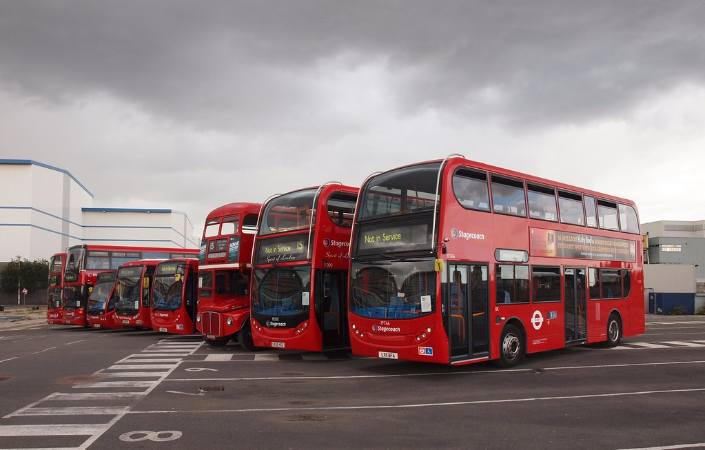 Car Garage For Sale >> West Ham Bus Garage | A line-up of buses was prepared for th… | Flickr