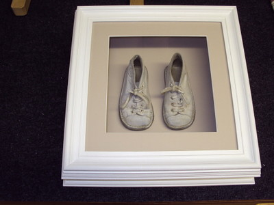 Framed Childs Shoes in Deep Frame   Here we made an extremel…   Flickr