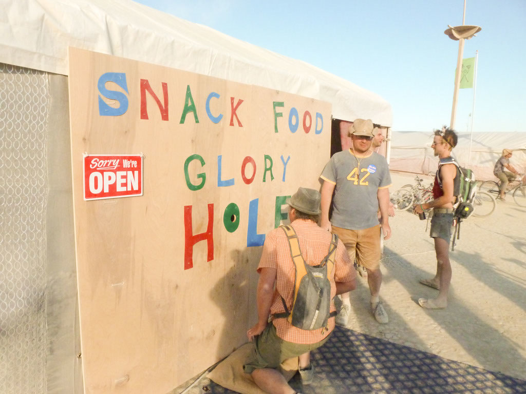 Snack Food Glory Hole  Put Your Mouth To The Hole -2979