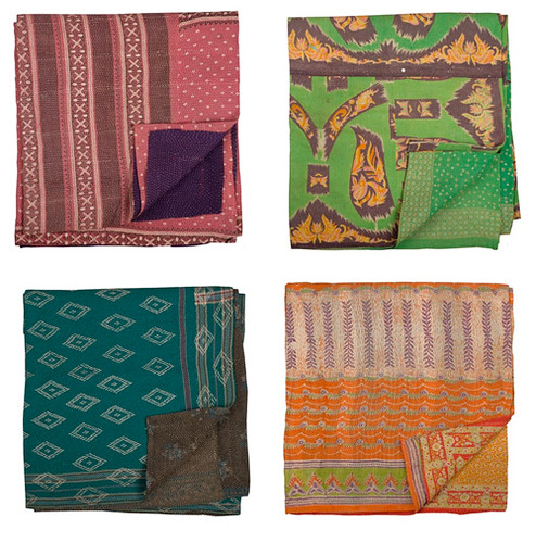 vintage sari quilts | by the style files