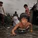 Smokey Mountain, Tondo - The way dumpsite children play