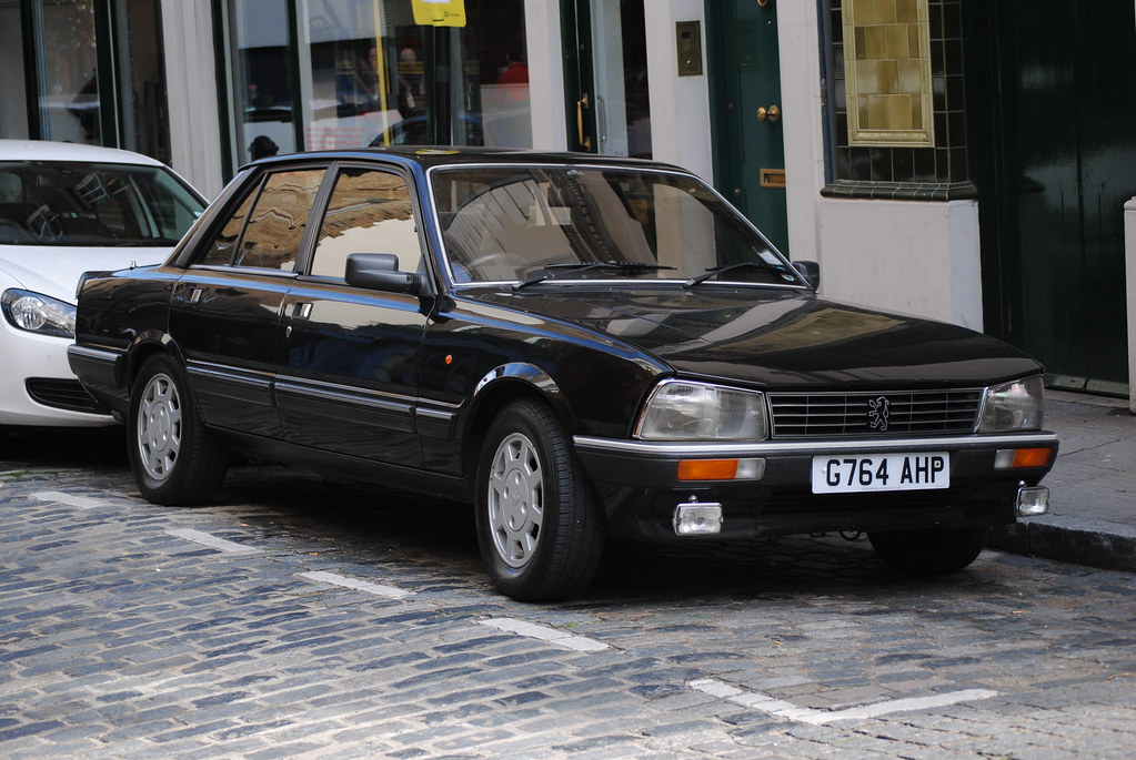 1989 peugeot 505 gti the second one of these i 39 ve seen in flickr. Black Bedroom Furniture Sets. Home Design Ideas
