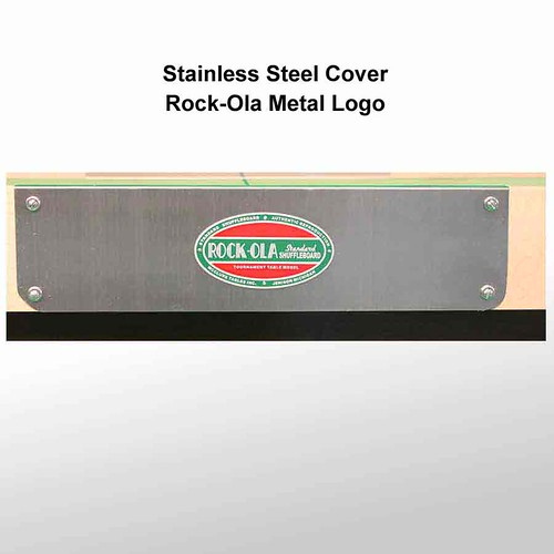 Rock-Ola Stainless Steel covers | by ShuffleboardTables