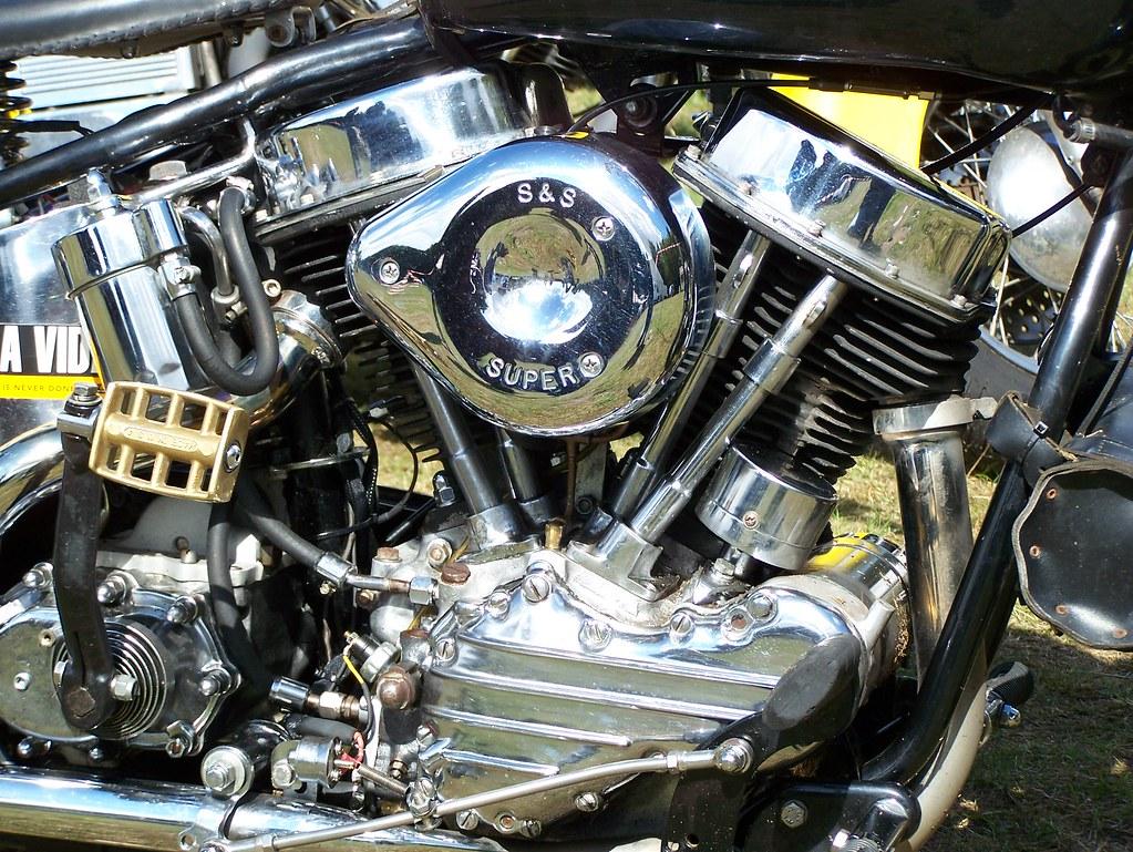 Panhead Engine Lovely Engine Ray Douglas Flickr