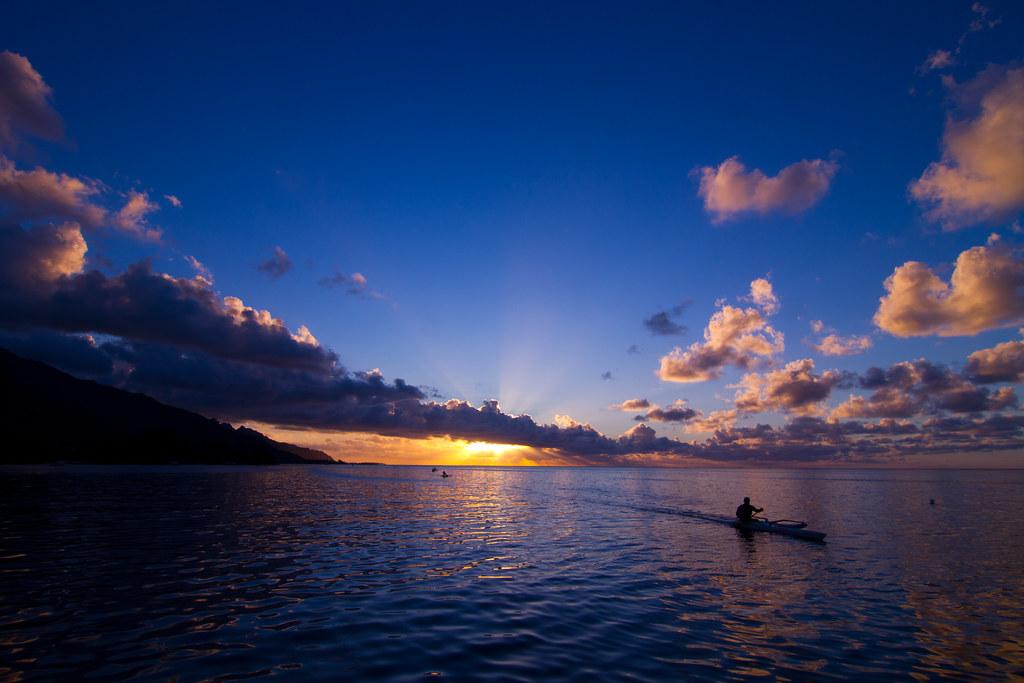 Moorea' Sunset