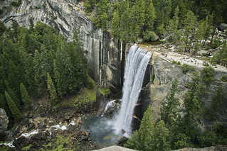 Vernal Falls from Above | by daser