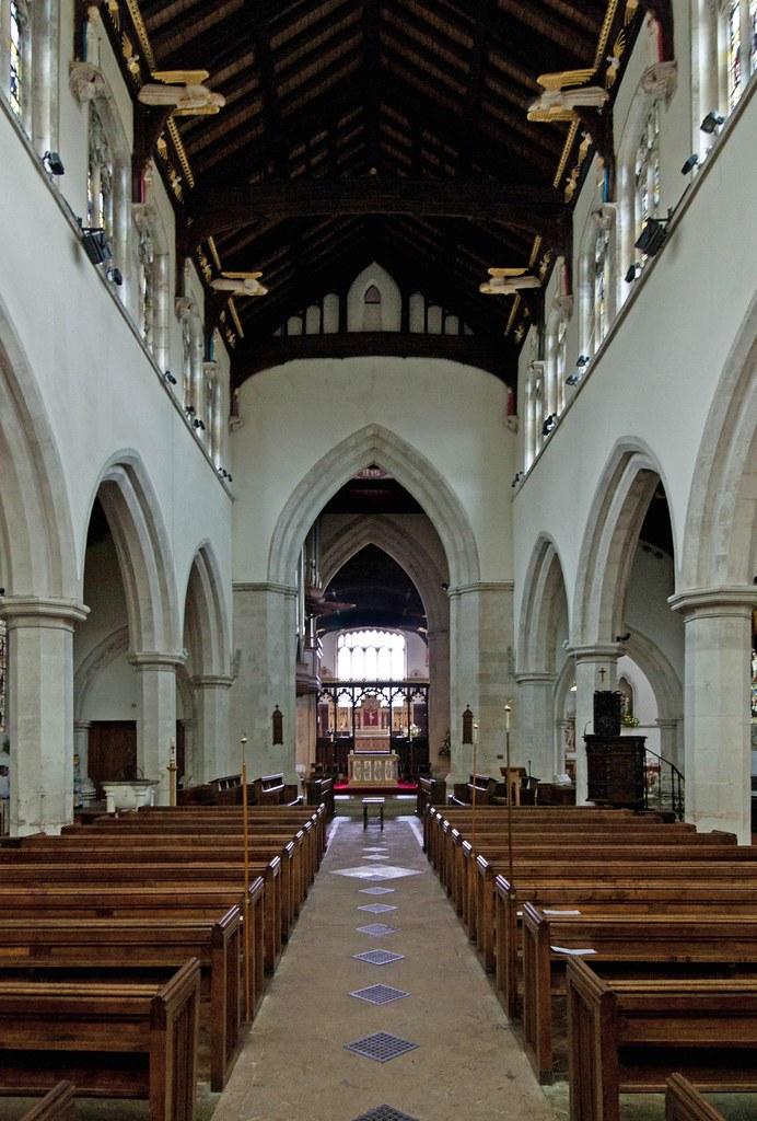 Leighton Buzzard Bedfordshire All Saints Church The