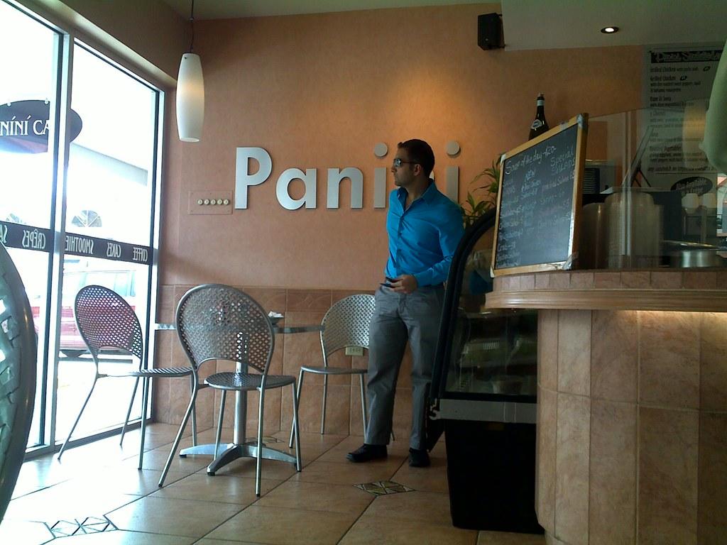 Panini Cafe In Downtown La