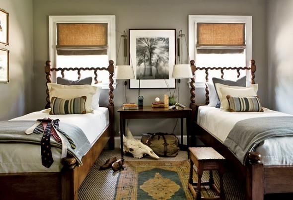 Pretty Perfect Gray Bedroom: Benjamin Moore 'Rockport Gray…