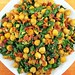 Chickpeas, Spinach and Bacon