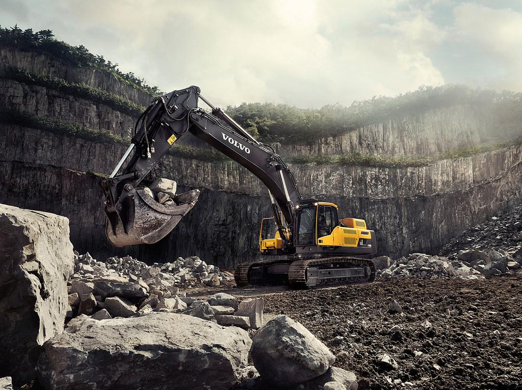 Volvo EC480D Crawler Excavator | The Volvo excavator diggers… | Flickr