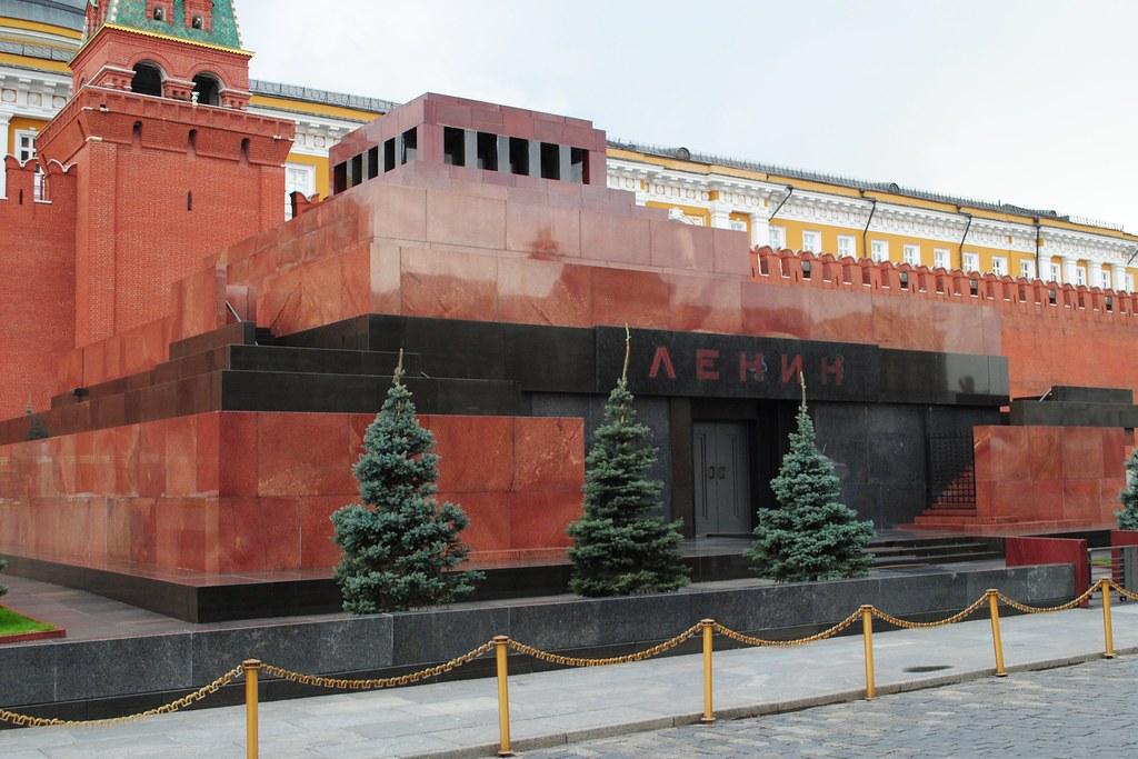 Moscow - Lenin's Tomb ...