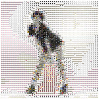 fashion mosaic1- iPad Art by David Scott Leibowitz | by David Scott Leibowitz
