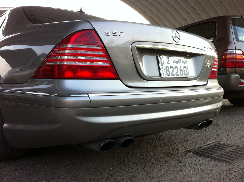 ... Mercedes Benz S55 AMG W220 2004 | By Q8500e