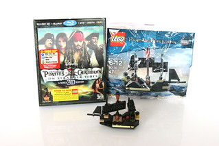 Target-exclusive Pirates of the Caribbean: On Stranger Tides 3D Blu-ray Limited Edition 5-disc set | by fbtb