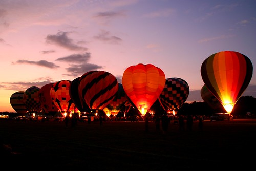 Hot Air Balloon Glow I | by awildernessgirl