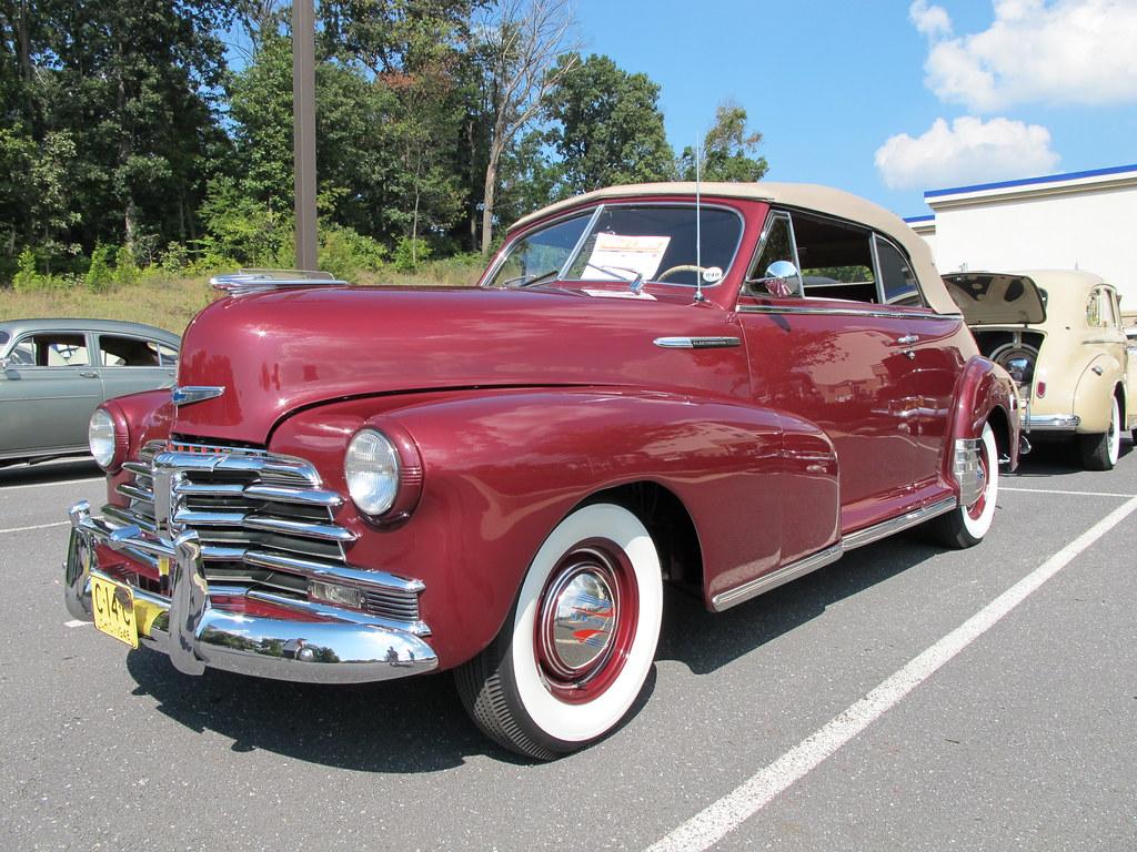 29163 1948 Chevrolet Fleetmaster Convertible Buckeye