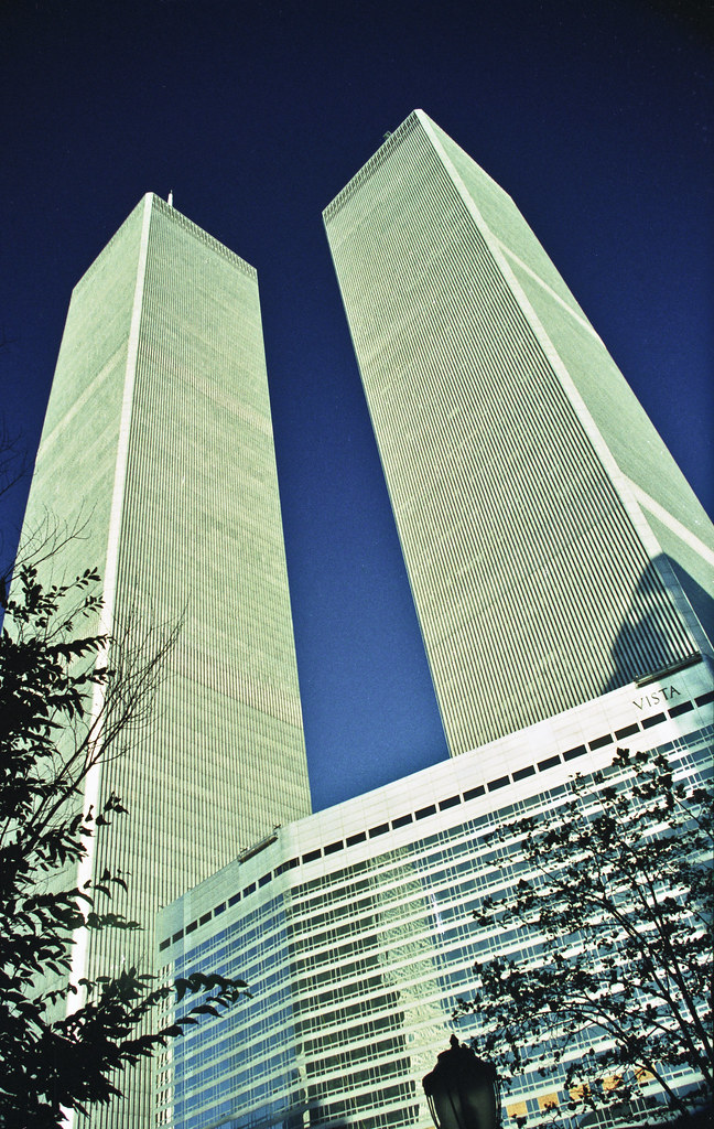 The Twin Towers World Trade Centre New York 1994 9 11