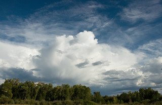 Storm Clouds Over Chama | by Frank Carey