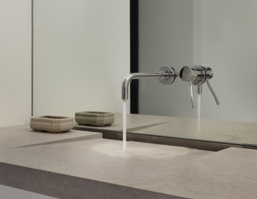 related images. Minimalist Porcelain Wall-Mount Corner Sink