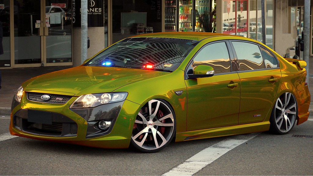 Fpv Ford Falcon F6 310 Typhoon Quot Gold Quot Chromium Gold F6
