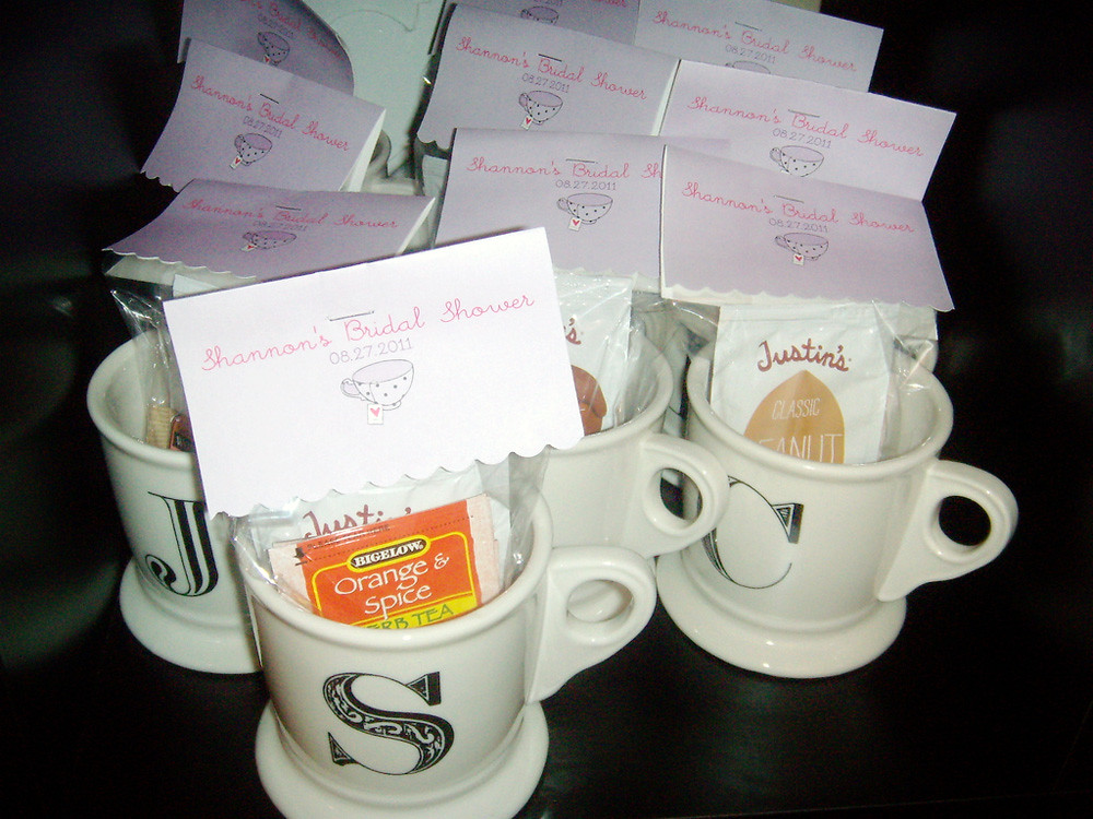 bridal shower favor tags tea themed by heylovedesigns