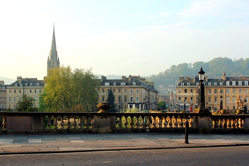 In Bath in early morning light, England, UK | by Hopeisland
