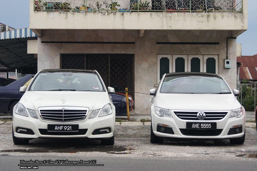Mercedes benz e class vs volkswagen passat cc nck for Mercedes benz volkswagen