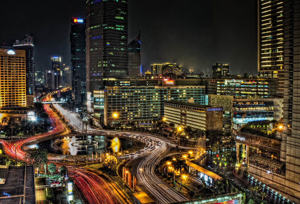 Selamat datang hotel indonesia roundabout hdr x100 for Design hotel jakarta