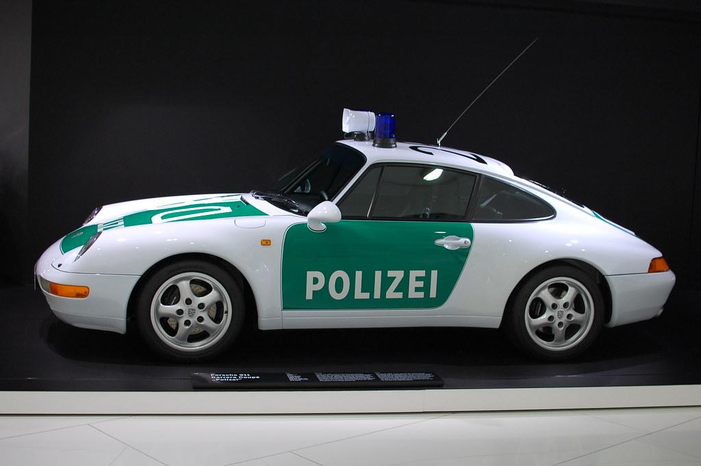 Dsc 1609 Porsche 911 Polizei 993 Police Car Stuttgart