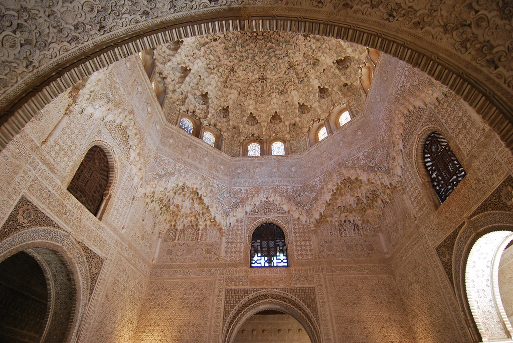 Hall Of The Two Sisters Alhambra The Hall Opens Into