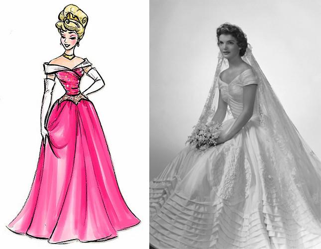 Aurora and Jackie Kennedy\'s Wedding Dress, 1953 | Found on t… | Flickr