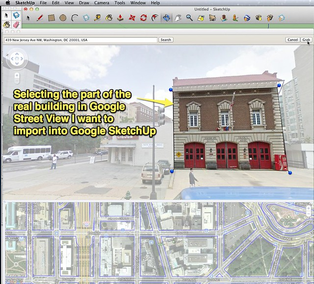 how to take a photo of screen sketchup